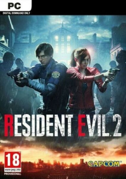 RESIDENT EVIL 2 BIOHAZARD RE 2 per PC - COMPLETO ORIGINALE ITA - STEAM ACCOUNT