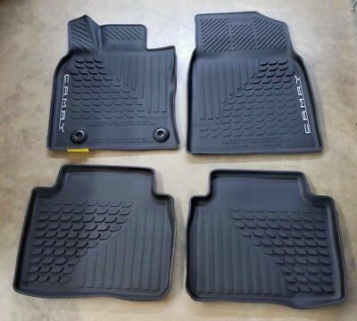OEM 2018 2019 2020 TOYOTA CAMRY ALL WEATHER FLOOR MATS / LINERS PT908-03180-20