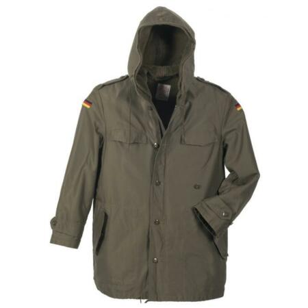 img-Bw Parka Field Jacket Winter Jacket Olive Army Used Size S/46 - L/50 Orginal