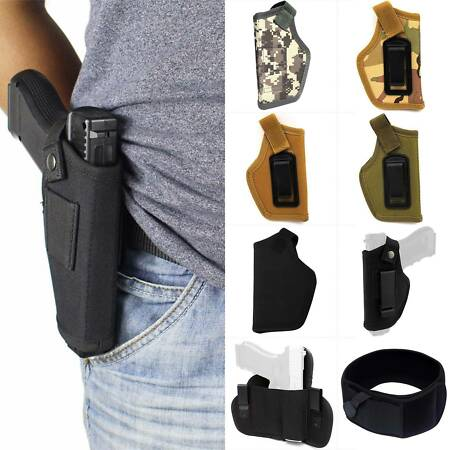 img-Military Army Tactical Gun Holder Pistol Holster Concealed Carry Waist Belt Clip