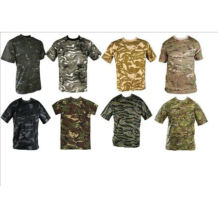 img-NEW ARMY MENS MILITARY CAMOUFLAGE COMBAT CAMO T SHIRT SHIRTS