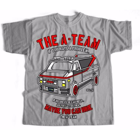 img-A Team Retro Film Movie TV Crime Sci Fi T Shirt Comedy Mystery Animation