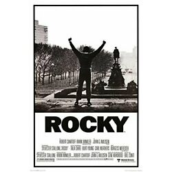 Kyпить Rocky Black & White Movie Poster 24x36 на еВаy.соm