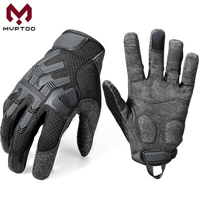 Motorcycle Touch Screen Riding Full Finger Gloves Racing Moto Motorbike Cycling