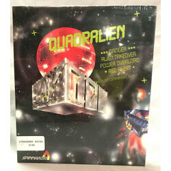 Quadralien Arcade-Style Space Adventure Game for Amiga by Spinnaker Software NIB