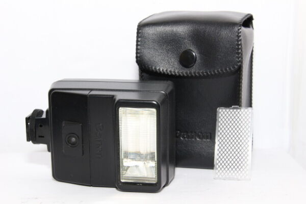 CANON FLASH Speedlite 177A Reflex FD A-1 AE-1 AV-1 AT-1 + Diffusore + Custodia