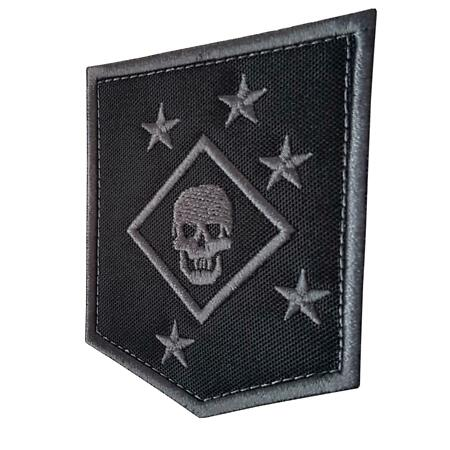 img-USMC raiders marines MARSOC subdued ACU embroidered tag patch VELCRO® brand