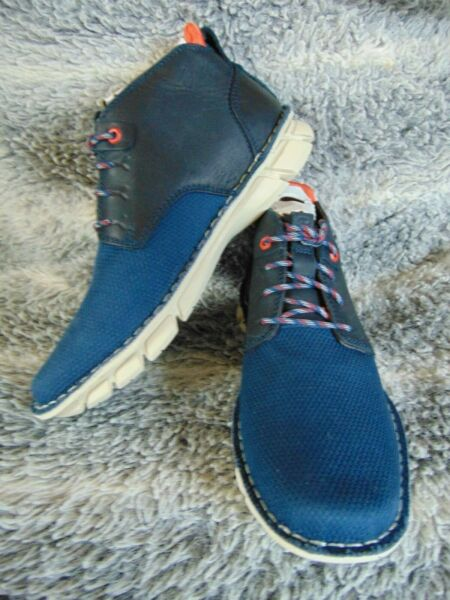 Blue CAT Ankle boots Almanac Caterpillar shoes Size UK 6 New in box
