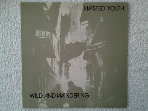 Disque vinyle lp WASTED YOUTH. Wild and Wandering