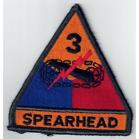 img-3RD ARMORED DIVISION SPEARHEAD ELVIS US ARMY PATCH TANK PIN UP ARTILLERY GIFT