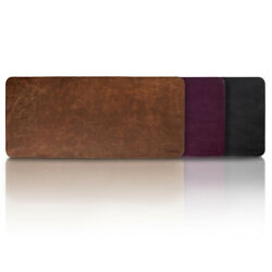 Londo Genuine Leather Mouse Pad - Leather Office Desk Mat - Desk Pad Protector