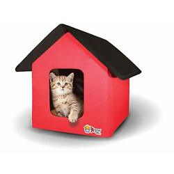 Collapsible Indoor/Outdoor Pet/Cat House - Heated and Standard