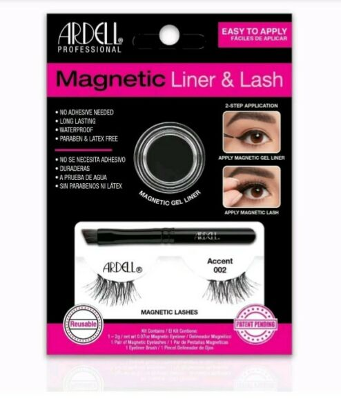 Ardell Magnetic Liner & lash, Accent 002 ciglia magnetiche con eyeliner