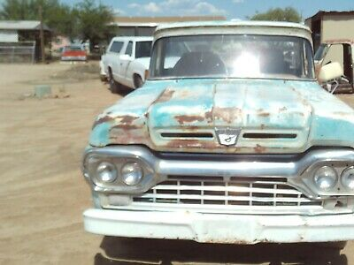 60 Ford Pickup Parts Or Project