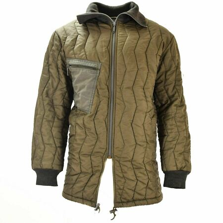 img-ORIGINAL GERMAN ARMY QUILT LINER FIELD JACKET PARKA LINING MILITARY ISSUE WINTER