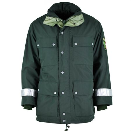 img-GENUINE GERMAN POLICE PARKA GORETEX GREEN WATERPROOF BGS BORDER GUARD JACKET NEW