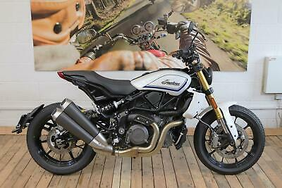 BRAND NEW 2019 INDIAN FTR1200S PEARL WHITE SPECIAL EDITION