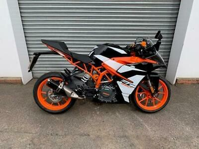 2019 (19) KTM RC 390 ABS WITH ONLY 199 MILES ON THE CLOCK !!!