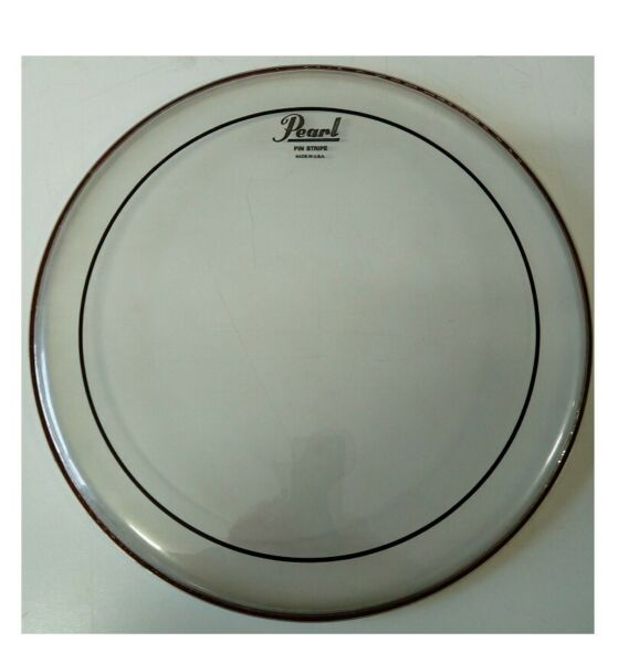 PELLE PEARL BY REMO PINSTRIPE 15'' CLEAR