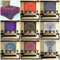 Kyпить Mandala Cotton Tapestry Wholesale Lot Indian Wall Decor Throw 100 Pcs Bedsheets на еВаy.соm