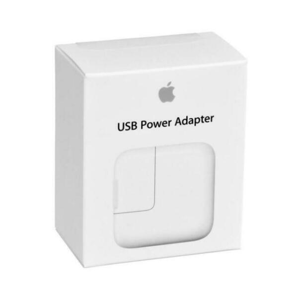 SPINA CARICATORE BATTERIA ORIGINALE APPLE MD836 A1401 USB 12W IPHONE 7 8 X IPAD