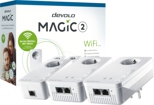 Coesfeld,DeutschlandMagic 2 WiFi  Kit Stromnetzadapter,Powerline, W-LAN Mesh
