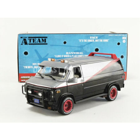 img-GREENLIGHT COLLECTIBLES - 1/24 - GMC A TEAM - VAN AGENCE TOUS RISQUES 1983 - 840