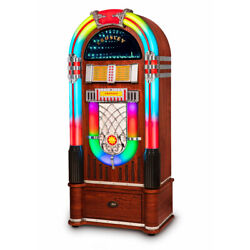 Kyпить Crosley Digital LED Jukebox with Bluetooth - Walnut With Stand на еВаy.соm