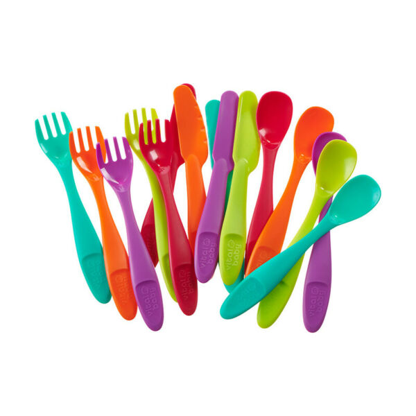 Irlande (Eire)Vital Baby NOURISH  Simple Cutlery 15Pk