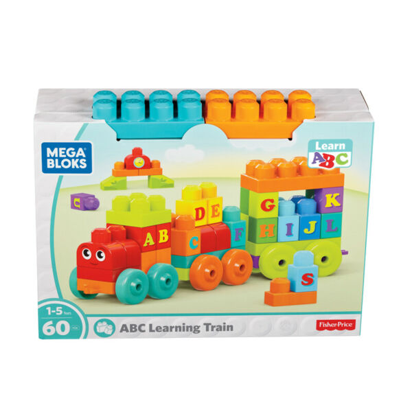 Irlande (Eire)Mega Bloks Abc Apprentissage Train 60pc