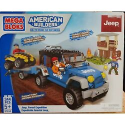 Kyпить Mega Bloks Jeep Forest Expedition Building Set 97834 Brand New 344 Pieces на еВаy.соm