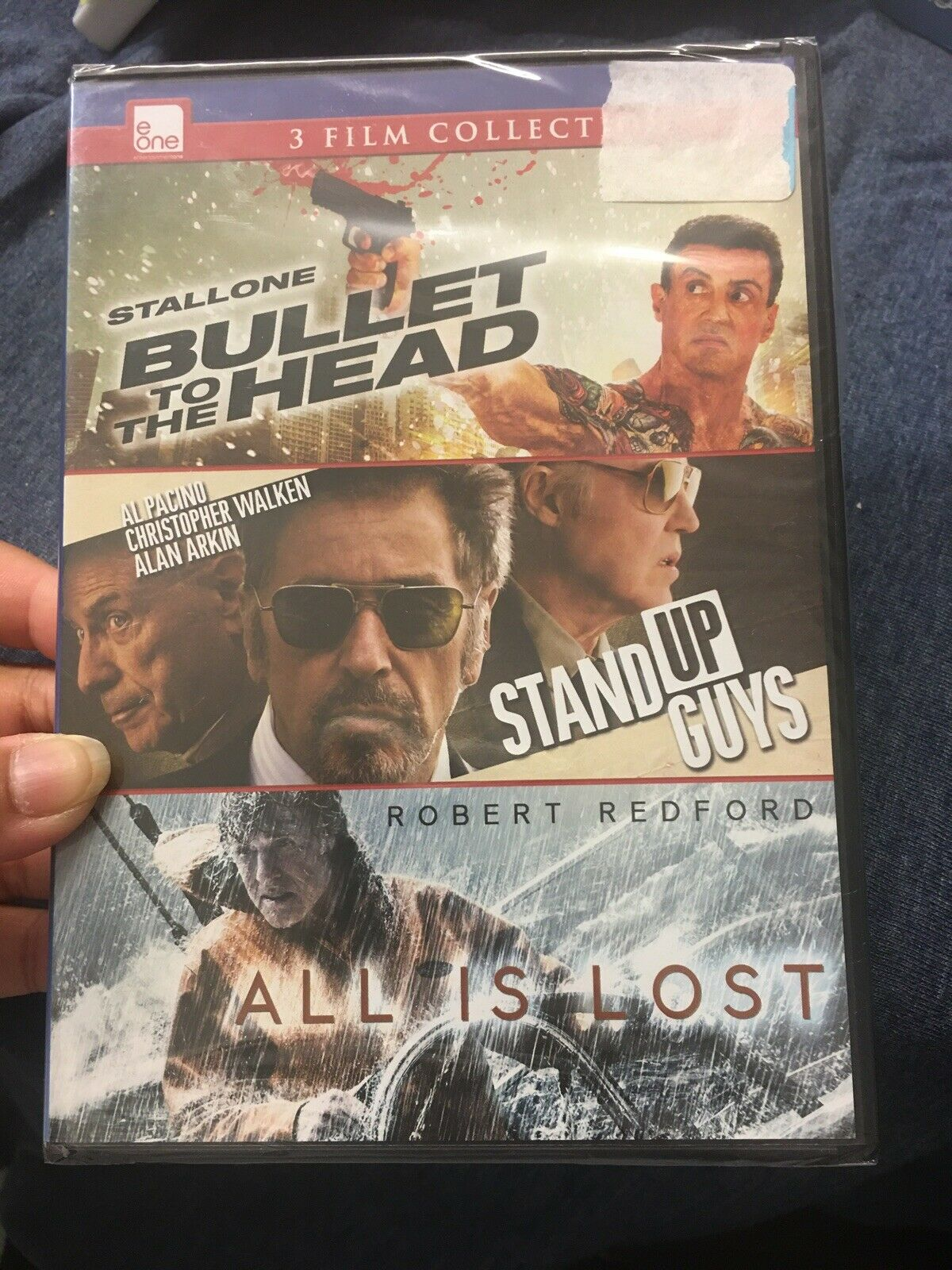 Upc 774212990823 Bullet To The Head Stand Up Guys All Is Lost Dvd Triple Feature Upcitemdb Com