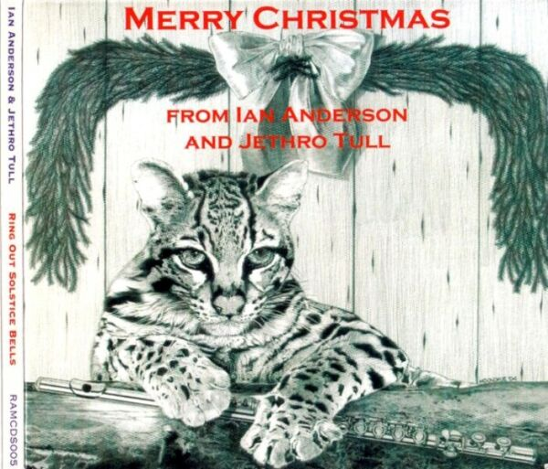 IAN ANDERSON and JETHRO TULL Ring out solstice bells Merry Christmas M/M