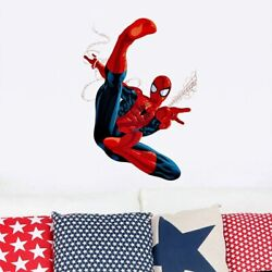 3D Spyderman Kids Room Wall Sticker Wall Decor Baby Bedroom Decal Poster for Boy