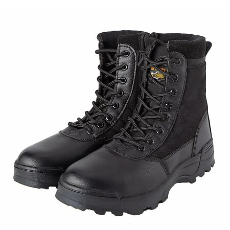 img-New Combat Boots Unisex Military Cadet Tactical Security Army Boots Black