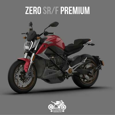 ZERO SRF 2020 PREMIUM 14.4kW, 6kW CHARGER, RED *PRICE DROP*