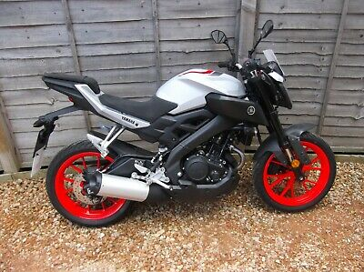 2019 Yamaha MT125 ABS 611 Miles One Owner From New (Free Delivery UK Mainland)
