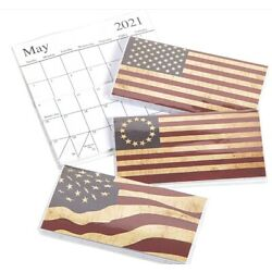 Kyпить 2021-2022 American Flags 2 Year Planner Pocket Calendar *FREE SHIPPING* на еВаy.соm