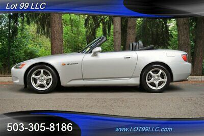 2002 Honda S2000 Convertible 1 OWNER Only 64K Miles Black Leather
