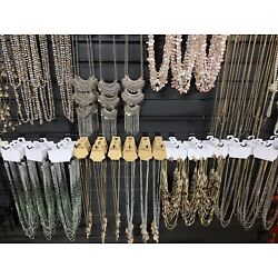 Kyпить Wholesale New Lot Of 45 Mix Fashion Jewelry Necklaces, Earrings, Bracelets на еВаy.соm