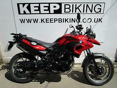 2012 BMW F700GS ABS (800cc) 6763 MILES. FULL SERVICE HISTORY (JUST DONE).