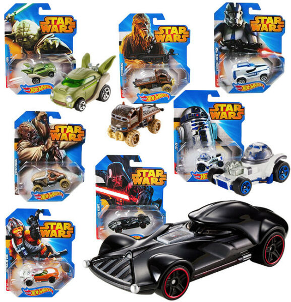 ItalieMachine Star Wars CGW35 Hot Wheels Voitures Mattel Disney Assortiment New