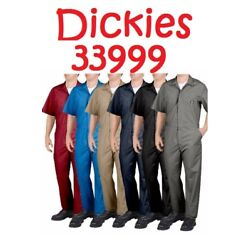 Kyпить Dickies Men's Short Sleeve Coveralls Comfort Elastic Waist Work Men's Big & Tall на еВаy.соm