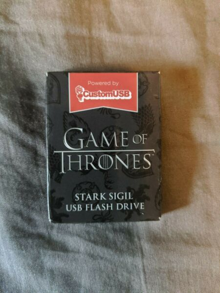Loot Crate Game Of Thrones USB Flash Drive Stark Sigil - 4GB