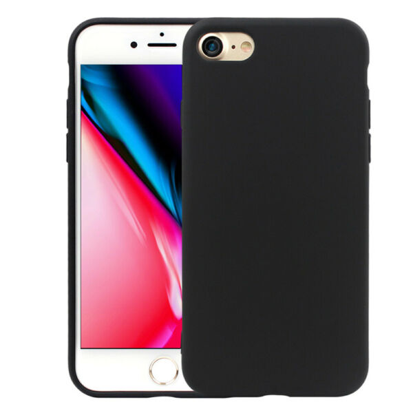 AllemagneMobile Housse de Protection Pour Apple IPHONE Se (2020) Ultra Mince Mou Silicone