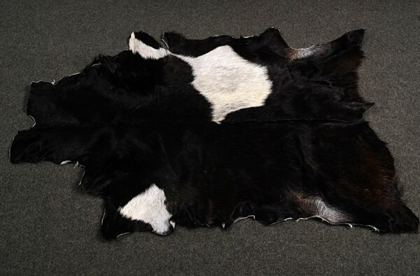 Royaume-UniNew Goat hide Rug Hair on Area Rug Size 40