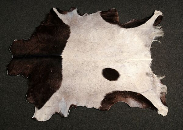Royaume-UniNew Goat hide Rug Hair on Area Rug Size 43
