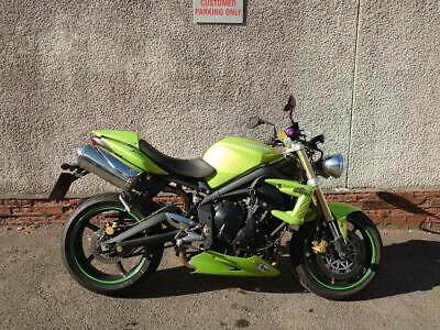 2009 TRIUMPH STREET TRIPLE 675 WITH 11000 MILES