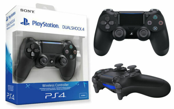 Dualshock 4 V2 per PlayStation 4 Wireless Controller. Nero PS4