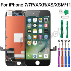 Kyпить iPhone 7 7 Plus LCD Touch Display Screen Digitizer Replacement / 9 In 1 Tools на еВаy.соm